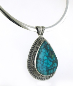 Turquoise Jewellery - Silver Chains