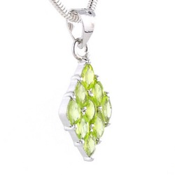 Peridot Pendants - Boothandbooth.co.uk