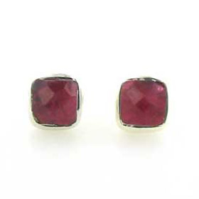 Ruby Stud Earrings Jayne