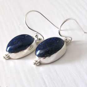 Lapis Lazuli Earrings Simone