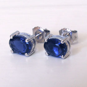Iolite Stud Earrings Mayla