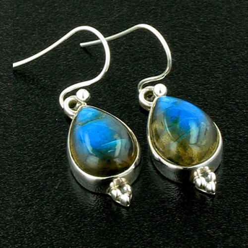 Labradorite Drop Earrings Adelle