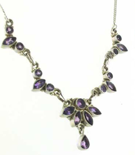 Amethyst Necklace Deborah