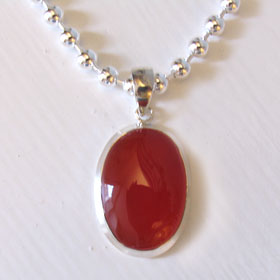 Carnelian Pendant Monique
