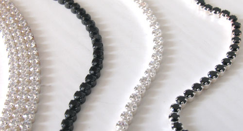 Sterling silver tennis bracelets - Gemstone Jewellery