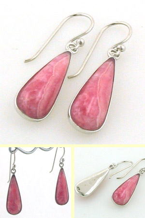 Rhodochrosite Earrings Acacia