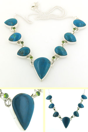 Chrysocolla Necklace Clarice