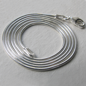 Sterling Silver Snake Chain - 1.1mm