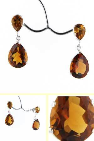 Citrine Earrings Melissa
