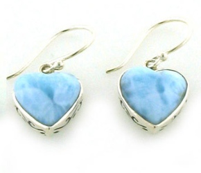 Larimar Earrings - Boothandbooth.co.uk