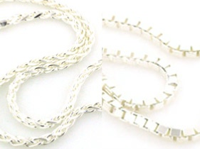 diamond cut chains - Boothandbooth.co.uk