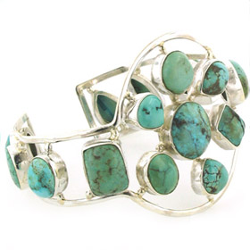 Turquoise Cuff Bracelet Magdalena
