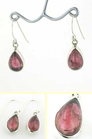 Light Pink Tourmaline Earrings Agatha