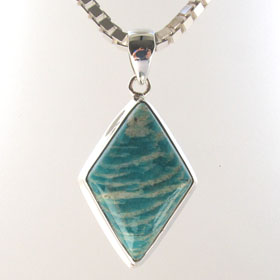 Amazonite Pendant Ingrid