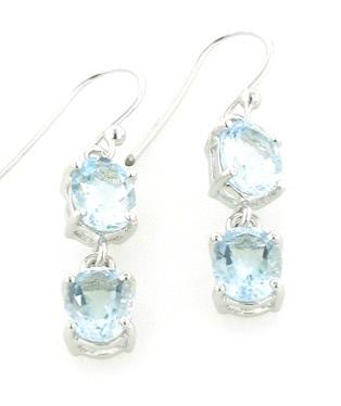 d267ea8c06b2 Sterling Silver Aquamarine Earrings. Aquamarine Earrings - Boothandbooth.co. uk
