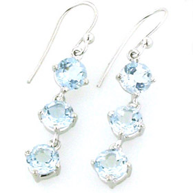 Aquamarine Earrings Demi
