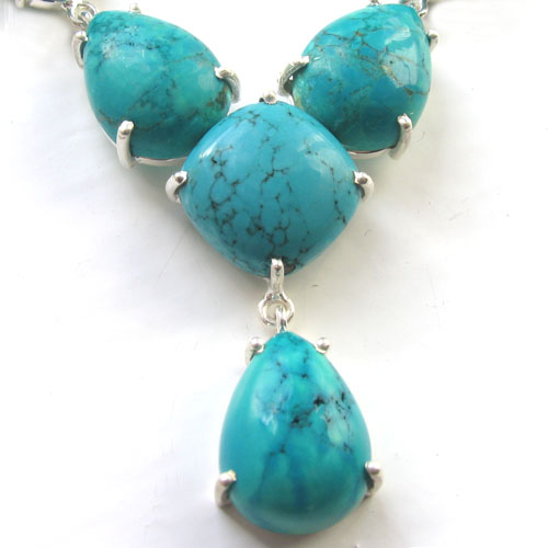 Turquoise Necklace Lettie