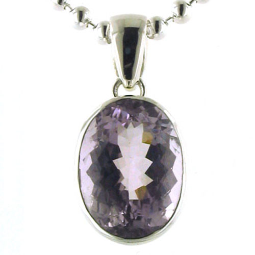 Pink Amethyst Pendant Candy