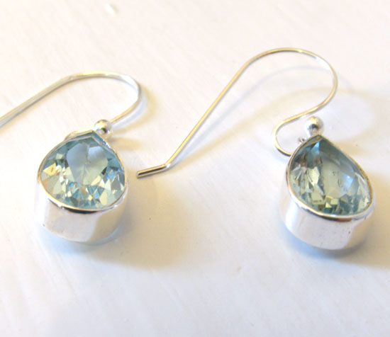 Blue Topaz Earrings Orla