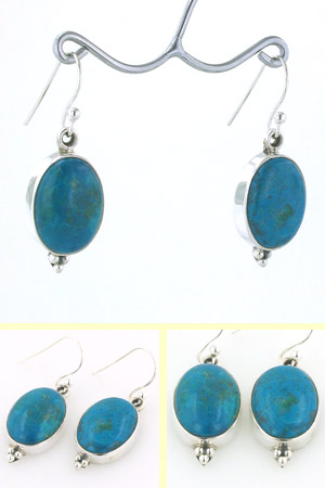 Chrysocolla Earrings Simone