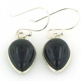 Black Onyx Earrings Melanie