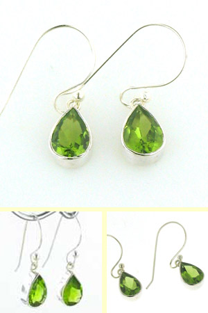 Peridot Earrings Bethany