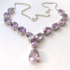 Amethyst Necklace Bethany