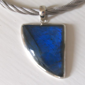 Labradorite pendants - Gemstone Jewellery Booth and Booth