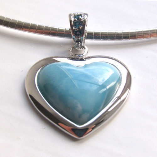 Larimar Pendant Esther