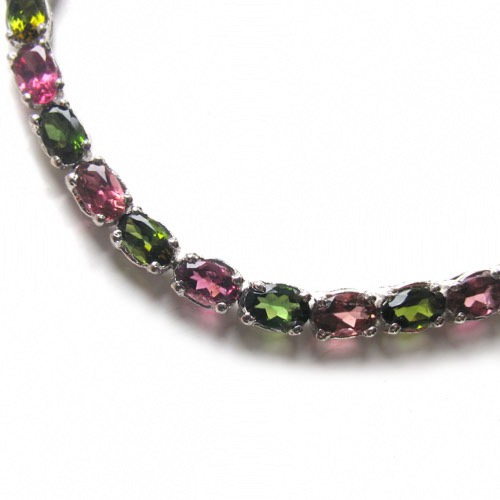 Tourmaline Bracelet Verity in Sterling Silver