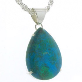 Chrysocolla Pendants - Amethyst Pendants - Booth and Booth  Gemstone Jewellery