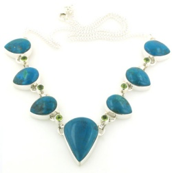 Chrysocolla Necklace - Chrysocolla Jewellery
