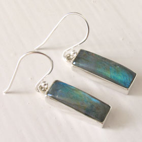 Labradorite Drop Earrings Evita