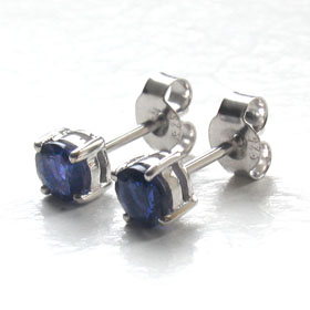 Iolite Stud Earrings Sally