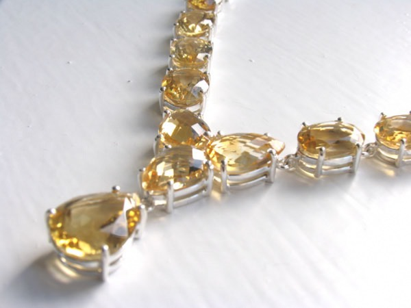 Citrine Necklace Bethany