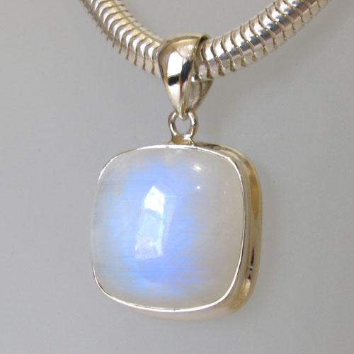 Rainbow Moonstone Pendant Megan