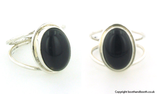 Black Onyx Ring Bazille